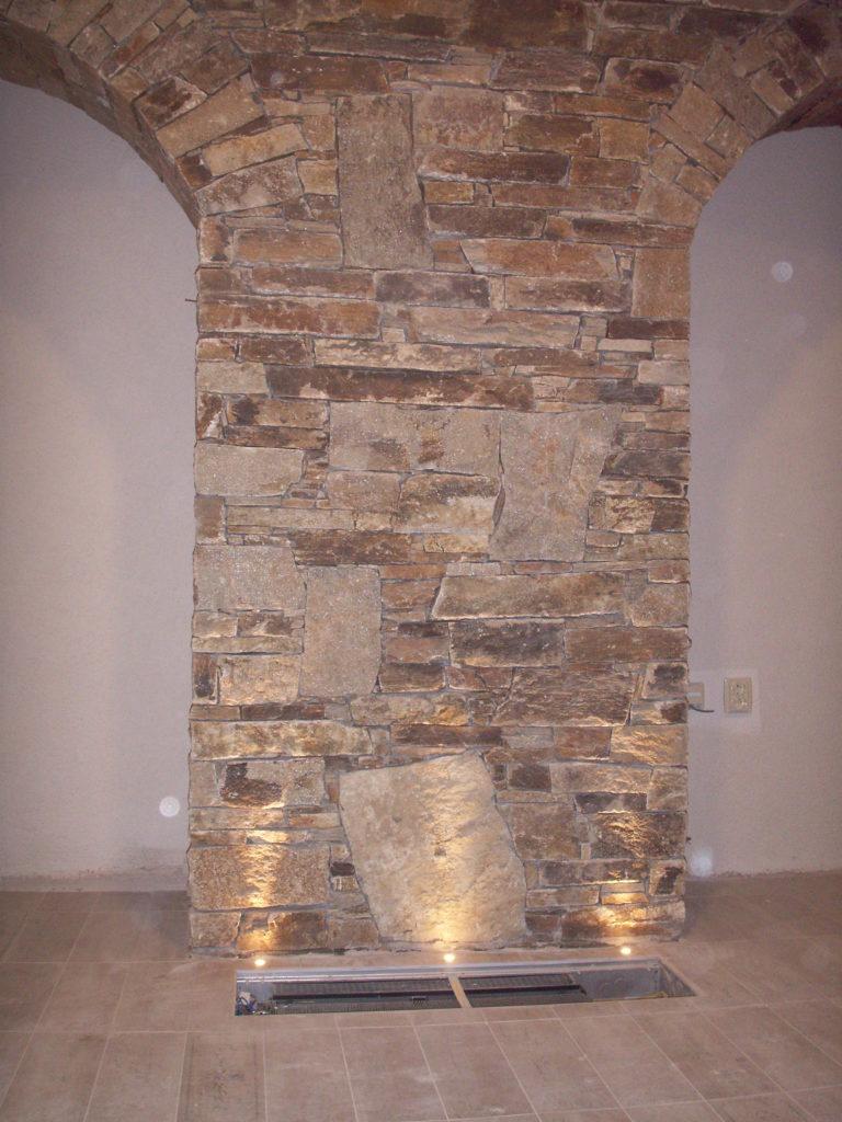 Kamenný obklad skála